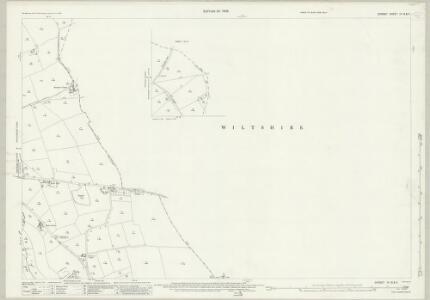 Dorset IV.15 & 11 (includes: Cann; Donhead St Mary; Donhead St Mary; Semley; Shaftesbury) - 25 Inch Map