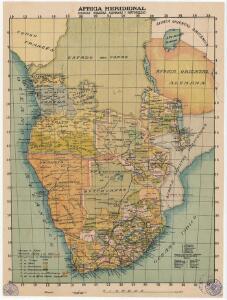 Africa meridional: colonias inglesas, alemanas y portuguesas