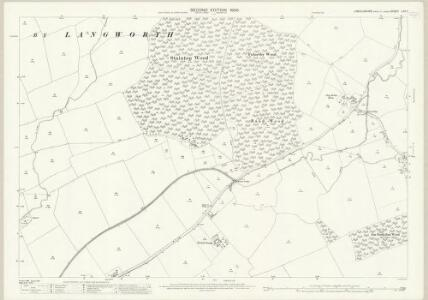 Lincolnshire LXII.7 (includes: Bullington; Fulnetby; Newball; Stainton by Langworth) - 25 Inch Map