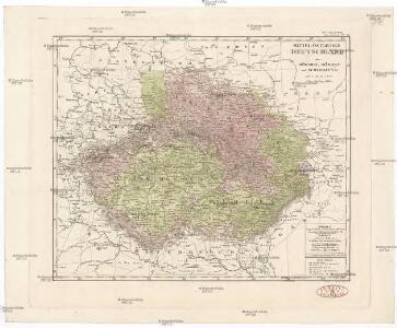 Mittel-östliches Deutschland oder Böhmen, Mähren und Schlesien etc