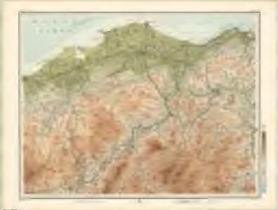 Nairn, Elgin - Bartholomew's 'Survey Atlas of Scotland'