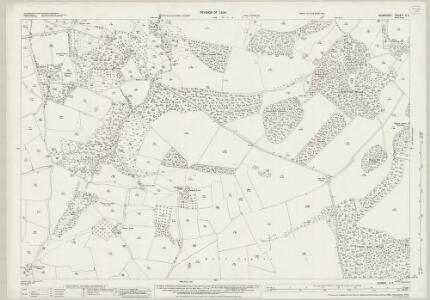 Somerset V.4 (includes: Abbots Leigh; Long Ashton; Wraxall) - 25 Inch Map