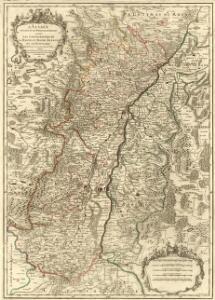 L'Alsace divisée en ses Principales Parties sçavoir les Landgraviats de la Haute, et Basse Alsace et le Suntgaw