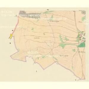 Bollewetz (Bolewec) - c0349-1-006 - Kaiserpflichtexemplar der Landkarten des stabilen Katasters