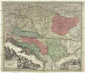 Nova et accurata Hungariae