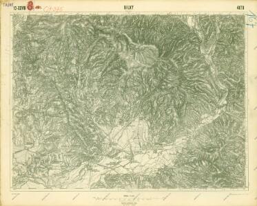 III. vojenské mapování 4670