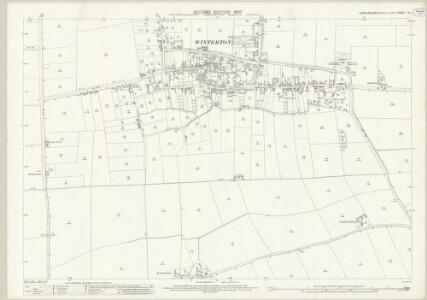 Lincolnshire XI.1 (includes: Roxby cum Risby; Winterton) - 25 Inch Map