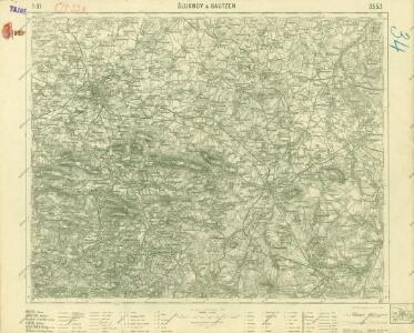 III. vojenské mapování 3553