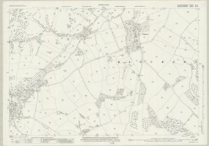 Gloucestershire XV.5 (includes: Batsford; Blockley) - 25 Inch Map