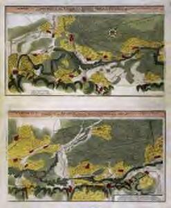 Vorstellung des Campements der kayserl. u. Reichs-Armee zu Bruchsal