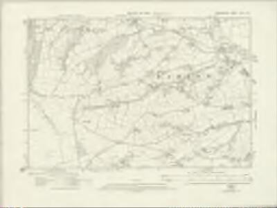 Derbyshire XVII.SE - OS Six-Inch Map