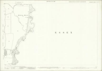 Middlesex III.13 (includes: Cheshunt; Enfield St Andrew; Waltham Holy Cross) - 25 Inch Map
