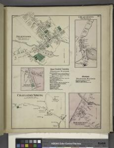 Allentown [Village]; Ellisdale [Village]; Charlston Springs [Village]; Upper Freehold Township Business Notices. ; Imlaystown [Village]; Allentown Business Notices. ; Hornerstown [Village]
