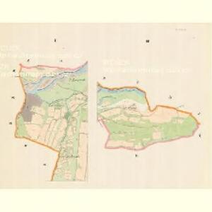 Strzitesch - m2923-1-001 - Kaiserpflichtexemplar der Landkarten des stabilen Katasters