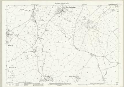 Devon CXV.12 (includes: Ipplepen; Kerswells; Marldon; Torquay) - 25 Inch Map