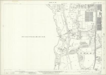 Middlesex XIV.7 (includes: Iver; Uxbridge; Yiewsley and West Drayton) - 25 Inch Map