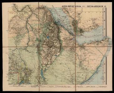Spezial - karte von AfricaSektion Abessinien (6)