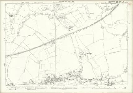 Hertfordshire XXXI.13 (includes: Harlow; Netteswell; Sawbridgeworth; Sheering) - 25 Inch Map