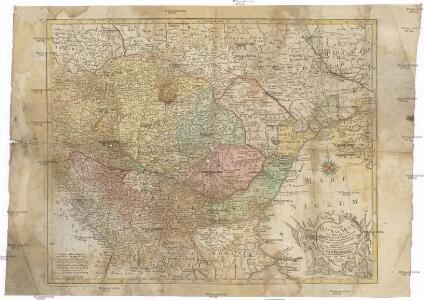 Tabula Hungaria et regionum, quae praeterea ab ea dependent, delineata juxta magnum numerum an[n]otationum et mappas manuscriptas vel impressas