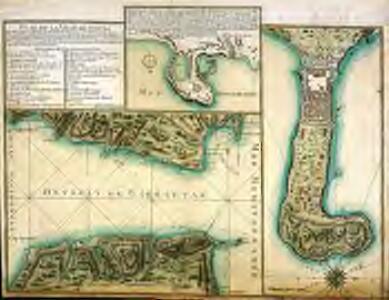 Plan de la ville de Ceuta