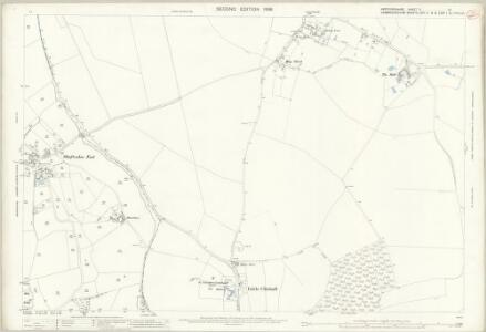 Hertfordshire V.15 (includes: Barley; Great Chishill; Little Chishill) - 25 Inch Map