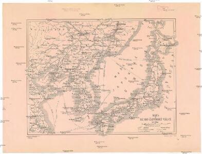 Mapa k rusko-žaponské válce