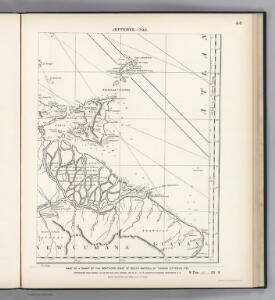 Facsimile:  Part of Northern Coast of South America by Jefferys.