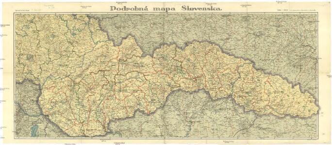 Podrobna Mapa Slovenska