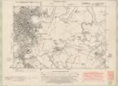 Stirlingshire Sheet XVII.NE - OS 6 Inch map