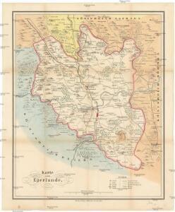 Karte vom Egerlande