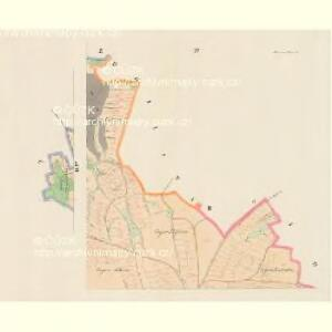 Piwana (Pywowan) - c5853-1-004 - Kaiserpflichtexemplar der Landkarten des stabilen Katasters