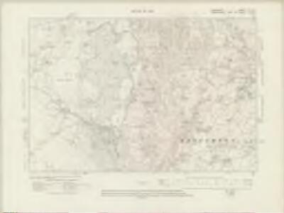 Lancashire VI.NE - OS Six-Inch Map