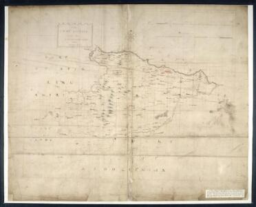 Mappe of Wast Lothian comonly called Linlithgowshire / authore Johanne Adair.