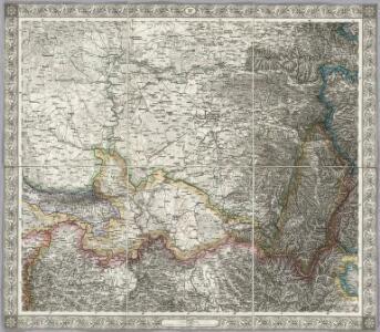 Sheet XIV: Karte Des Oesterreichischen Kaiserstaates.