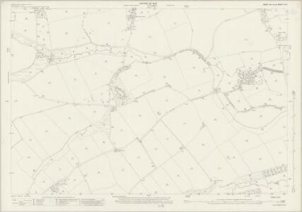 Essex (New Series 1913-) n X.8 (includes: Belchamp Otten; Belchamp Walter; Borley; Foxearth) - 25 Inch Map