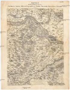 Blatt 6 & 11 aus Georg Matthäus Vischer's Archiducatus Austriae inferioris geographica, et noviter emendata accuratissima descriptio