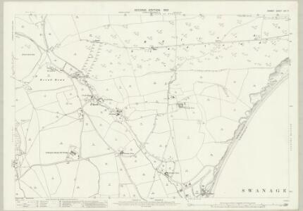 Dorset LVII.5 (includes: Studland; Swanage) - 25 Inch Map