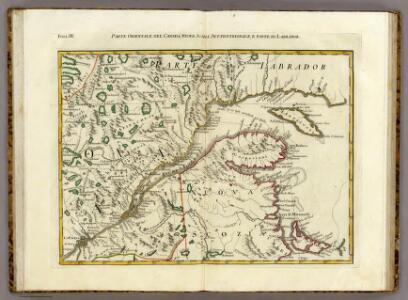 Parte Orientale del Canada, Nuova Scozia Settentrionale, e Parte di Labrador.