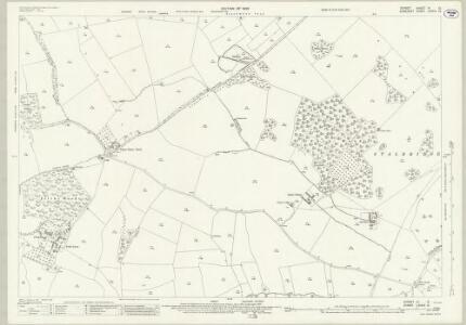 Dorset VI.12 (includes: Henstridge; Purse Caundle; Stalbridge) - 25 Inch Map
