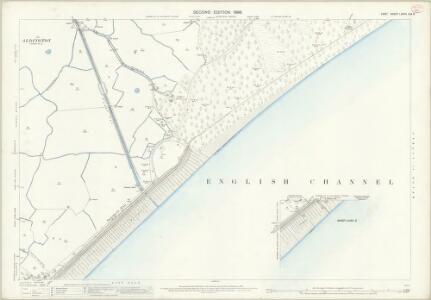 Kent LXXXII.2 & 6 (includes: Dymchurch; Hythe) - 25 Inch Map