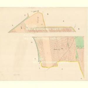 Banow - m0030-1-001 - Kaiserpflichtexemplar der Landkarten des stabilen Katasters