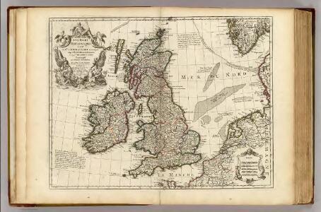 Isles Britanniques ou sont le Rme. d'Angleterre.