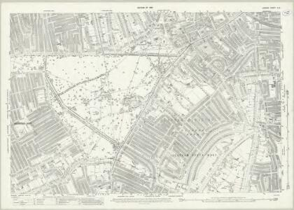 London (1915- Numbered sheets) IX.9 (includes: Battersea; Wandsworth Borough) - 25 Inch Map