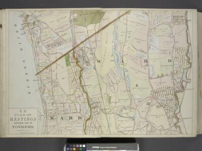 Plan of Hastings Northern part of Yonkers.