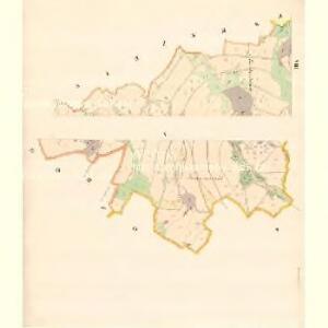 Tschimischl (Třzemesset) - m3156-1-007 - Kaiserpflichtexemplar der Landkarten des stabilen Katasters