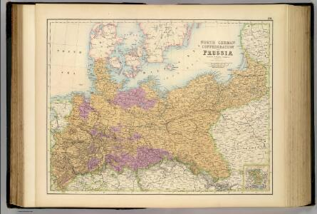 North German Confederation and Prussia.
