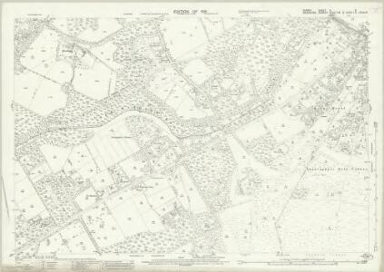 Surrey X.6 (includes: Chobham; Sunningdale; Windlesham) - 25 Inch Map
