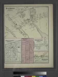 Bayshore, Town of Islip, Suffolk Co. - Brentwood, Town of Islip, Suffolk Co. - Bohemia, Town of Islip, Suffolk Co. - Greenville, Town of Islip, Suffolk Co. - Happauge, Town of Smithtown & Islip, Suffolk Co.