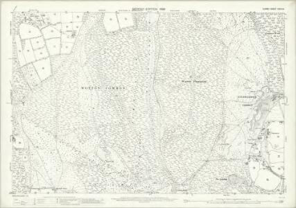 Surrey XXXIII.14 (includes: Abinger; Capel; Holmwood; Wotton) - 25 Inch Map