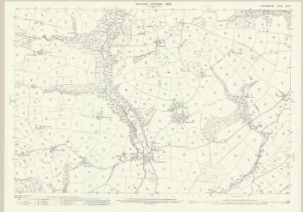 Cardiganshire XXVI.2 (includes: Betws Leucu; Gwynfil; Llangeitho; Nancwnlle) - 25 Inch Map